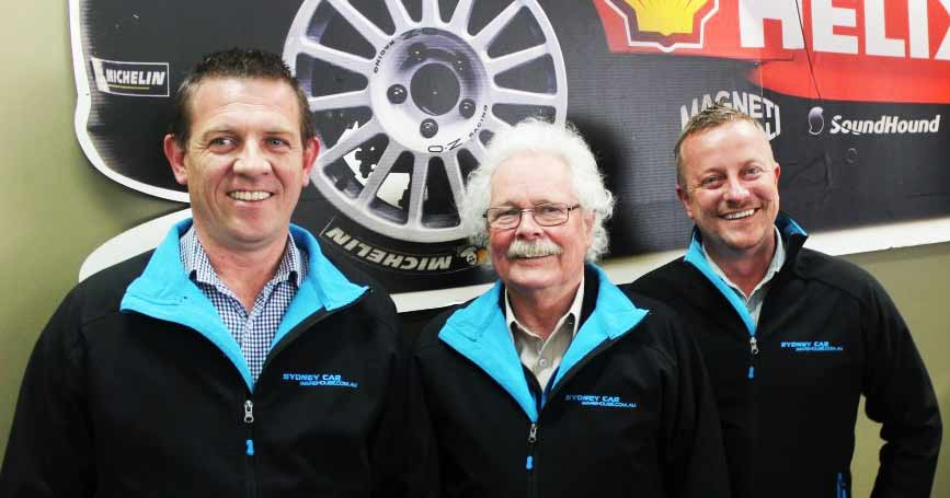 Sydney Car Warehouse Team